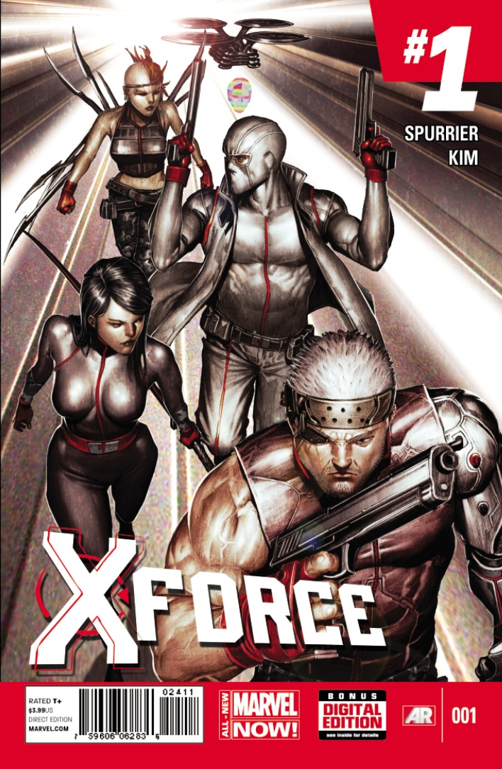 X-Force_1_Cover Cable takes the all new X-FORCE #1 into the darkness