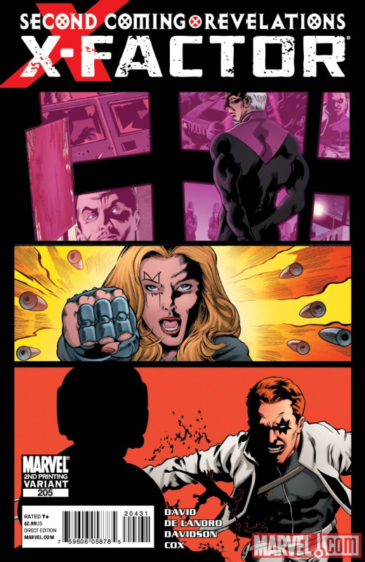 XFACTOR205_2ND X-Factor #205 and X-Men Legacy #236 get second printings