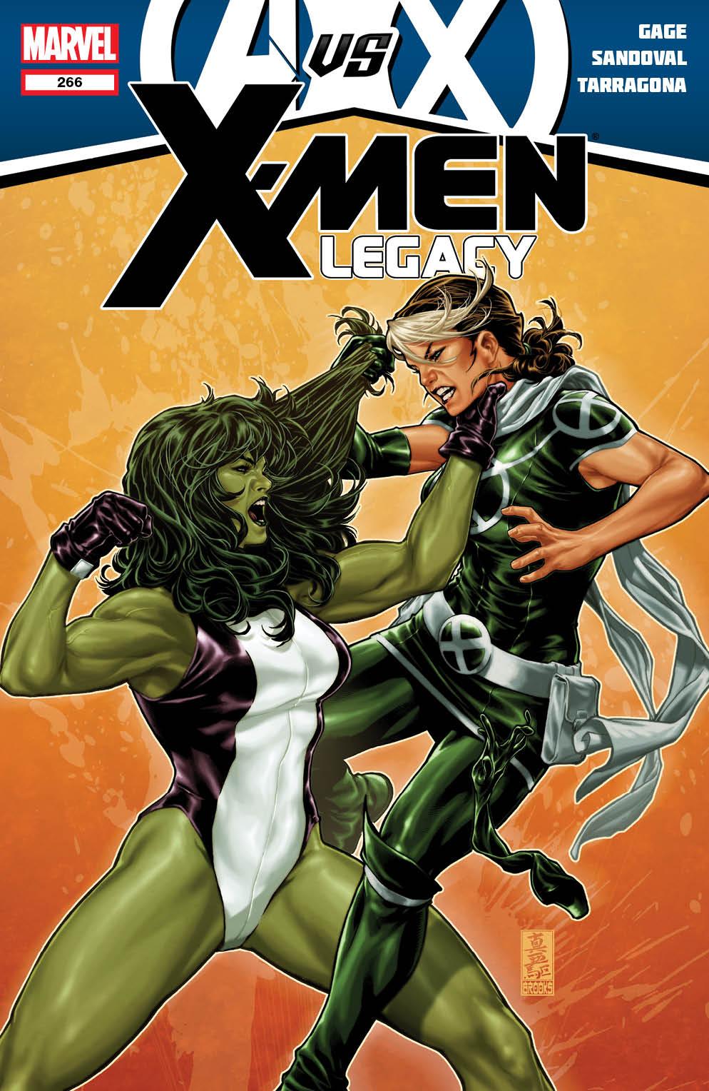 XMenLegacy_266_Cover Marvel unleashes New AVENGERS VS. X-MEN Covers