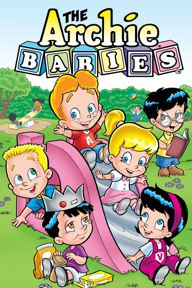abgn650 ARCHIE BABIES debut in Archie's first orignal graphic novel