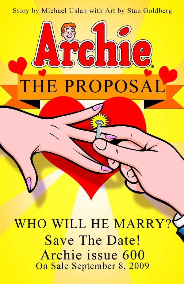 archie600 Archie Andrews Is Getting Married: Please Don't Tell Joe Quesada