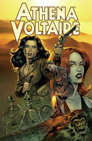athenavolt Sequential Pulp Comics unites with Dark Horse for ATHENA VOLTAIRE