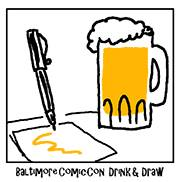 baltimore_draw Baltimore Comic-Con Drink and Draw to benefit Team Cul de Sac