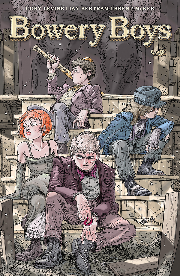 bowboys Dark Horse Comics to publish BOWERY BOYS hardcover collection