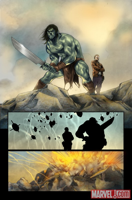 drhulk_3 Norman Osborn puts Hulk and Skaar on The List