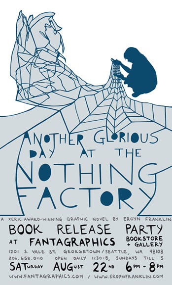 eroyn-franklin-announcement Another Glorious Day At The Nothing Factory Release Party August 22