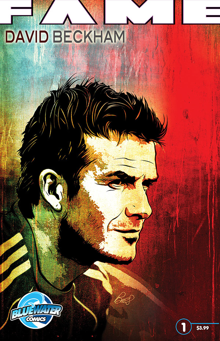 fame_beckham David Beckham earns latest Bluewater biography