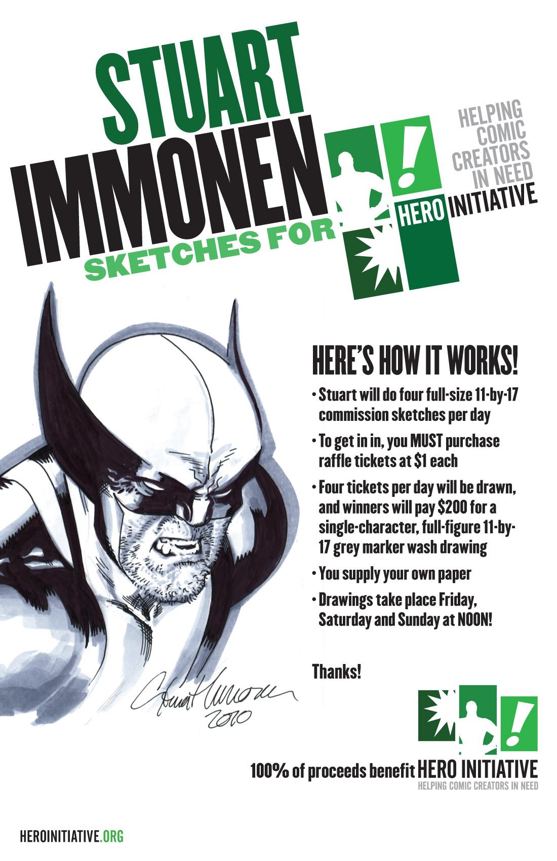 hero_sign_immonen_01_zP Hero Initiative celebrates Memorial Day at Phoenix Comic Con