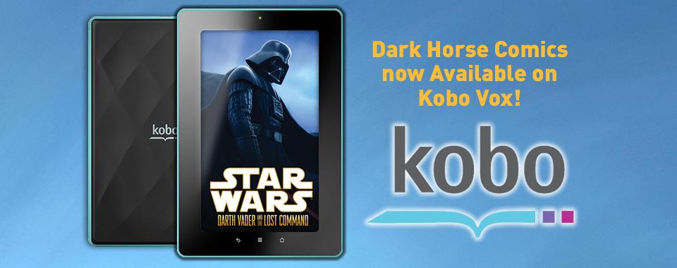 image_kobo1 Kobo Vox eReader now offers Dark Horse comics