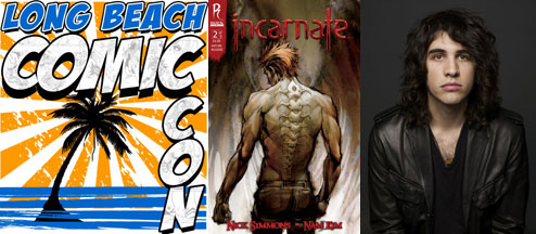 lbcc_simmons Nick Simmons to sign at the Long Beach Comic Con