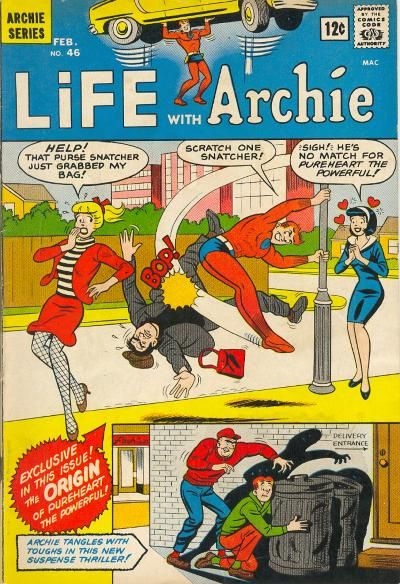lwa46 Michael Uslan To Script Pureheart The Powerful For Archie Comics