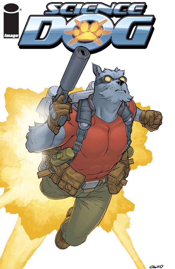 sciencedogspecial SCIENCE DOG gets his first collection from Image Comics
