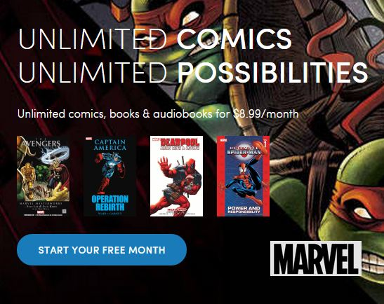 scribd_marvel Marvel partners with Scribd to offer hundreds of collected editions