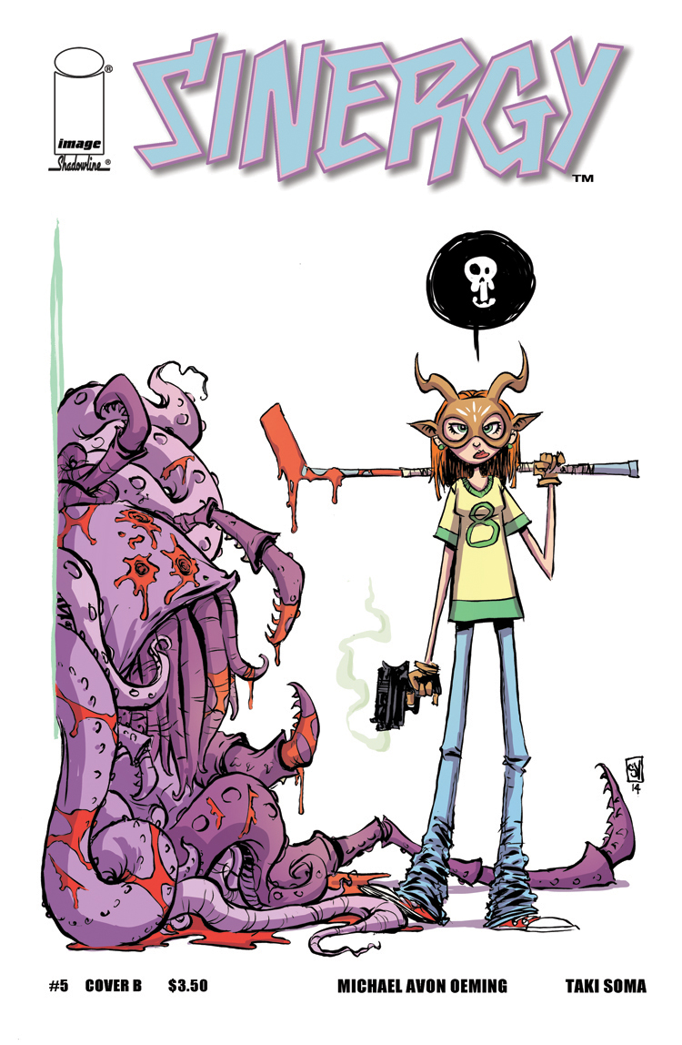 sinergy_05_CVR_B Skottie Young creates a creative cover for SINERGY #5