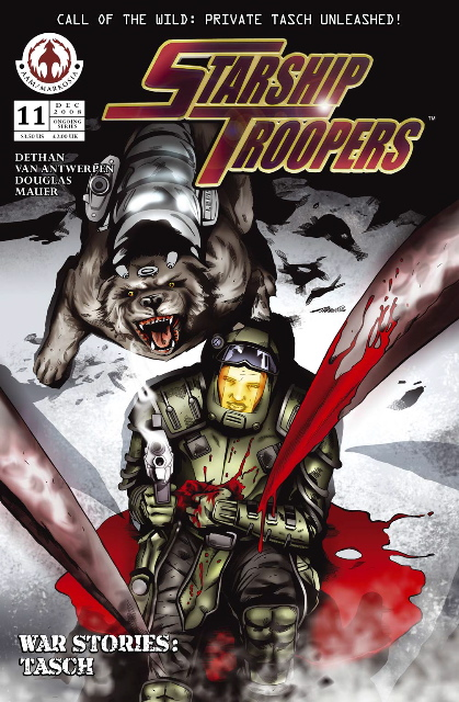 starshiptroopers11_1 AAM/MARKOSIA's Announces Troopers One-Shot WAR STORIES