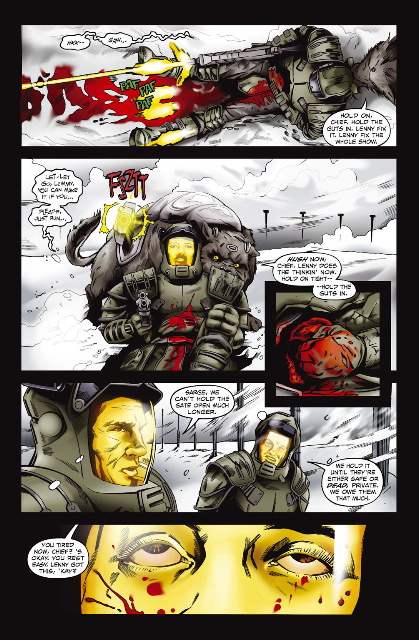 starshiptroopers11_3 AAM/MARKOSIA's Announces Troopers One-Shot WAR STORIES