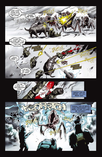 starshiptroopers11_4 AAM/MARKOSIA's Announces Troopers One-Shot WAR STORIES