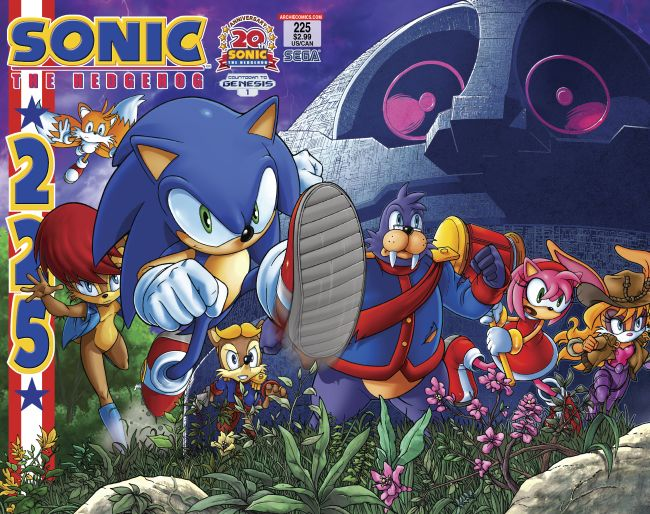 sth225.650 Sonic's 20th Anniversary begins HERE and NOW
