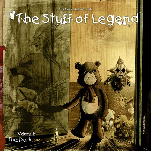 stuff-issue-1-printing-worn Th3rd World Studios' Stuff of Legend #1 Sells Out