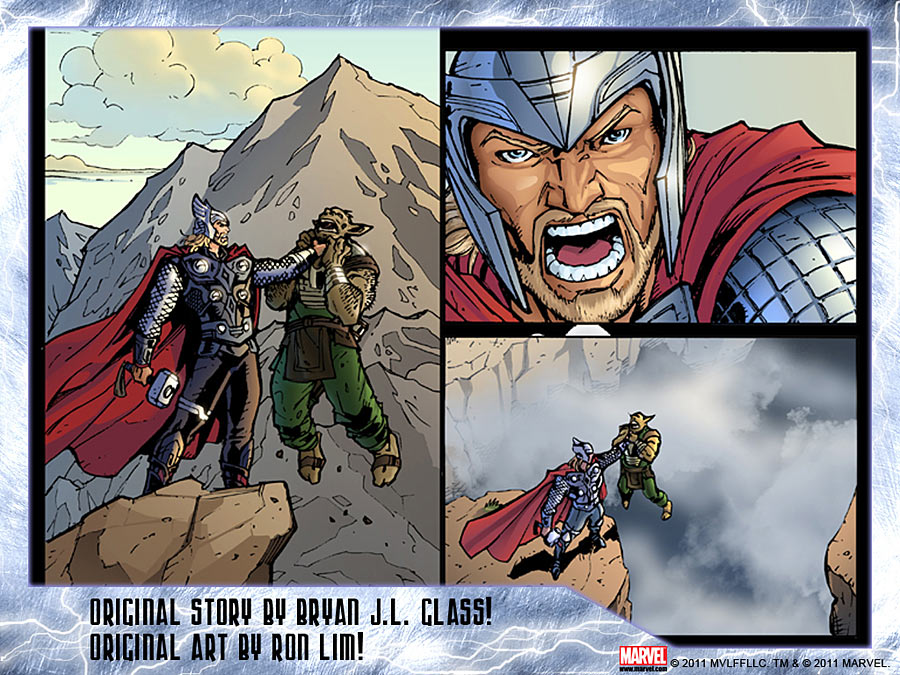 thor_app THOR SON OF ASGARD launches on App Store