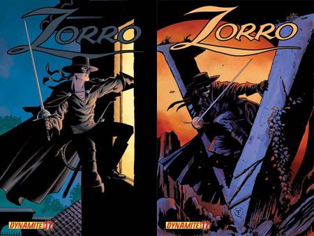 zorro17 ComicList: Dynamite Entertainment for 11/18/2009