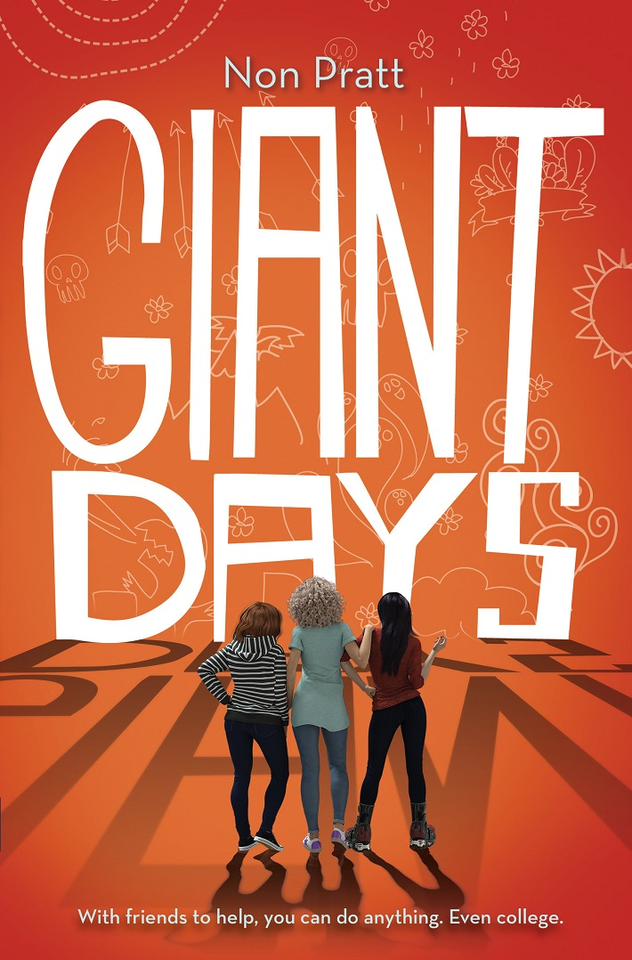 02916ca3-bf27-422f-85d9-f3c7cebbcacb ABRAMS to release YA novel based on GIANT DAYS series