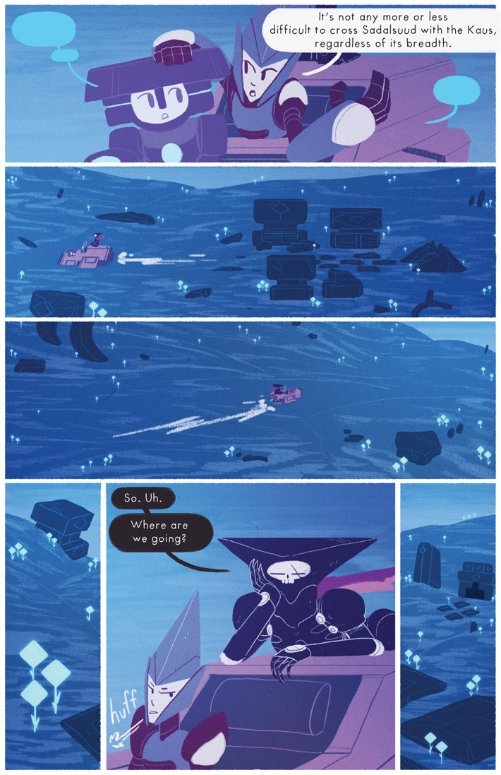 227187_1303050_1006 Teen webcomic OPHIUCHUS to debut in print this August