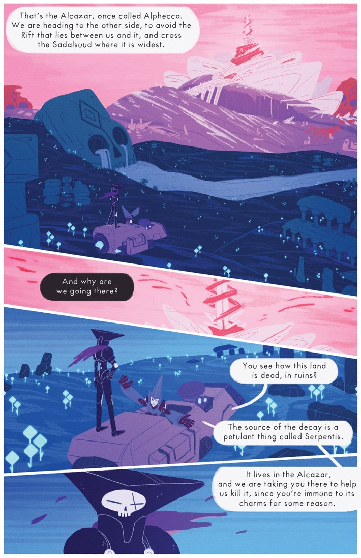 227187_1303051_1007 Teen webcomic OPHIUCHUS to debut in print this August