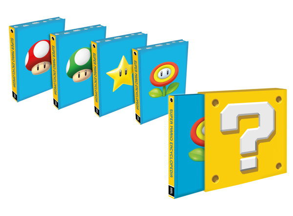 31057 SUPER MARIO ENCYCLOPEDIA Limited Edition to feature variant covers