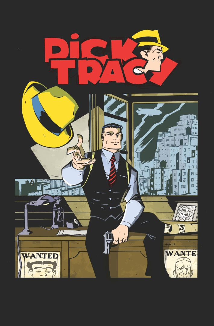 9d2e83e9-9ab2-45a9-ad54-d935d4cd5b55 Michael Avon Oeming to write and illustrate DICK TRACY FOREVER