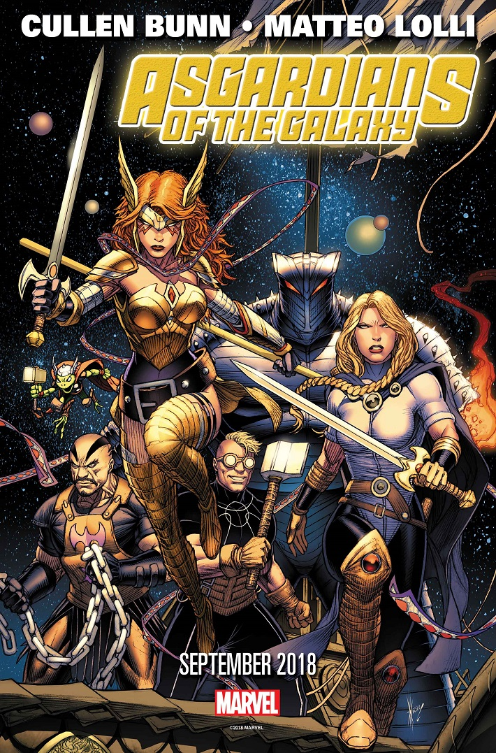 ASGARDGALAXY001_PRESS ASGARDIANS OF THE GALAXY spin out of the events of INFINITY WARS