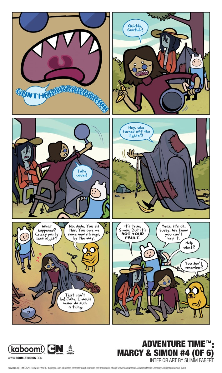 AT_MarcySimon_004_Interiors_002_PROMO First Look at BOOM! Studios' ADVENTURE TIME MARCY AND SIMON #4