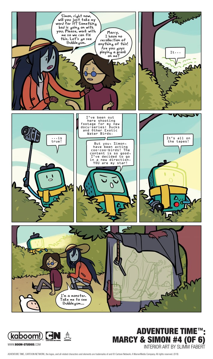 AT_MarcySimon_004_Interiors_003_PROMO First Look at BOOM! Studios' ADVENTURE TIME MARCY AND SIMON #4