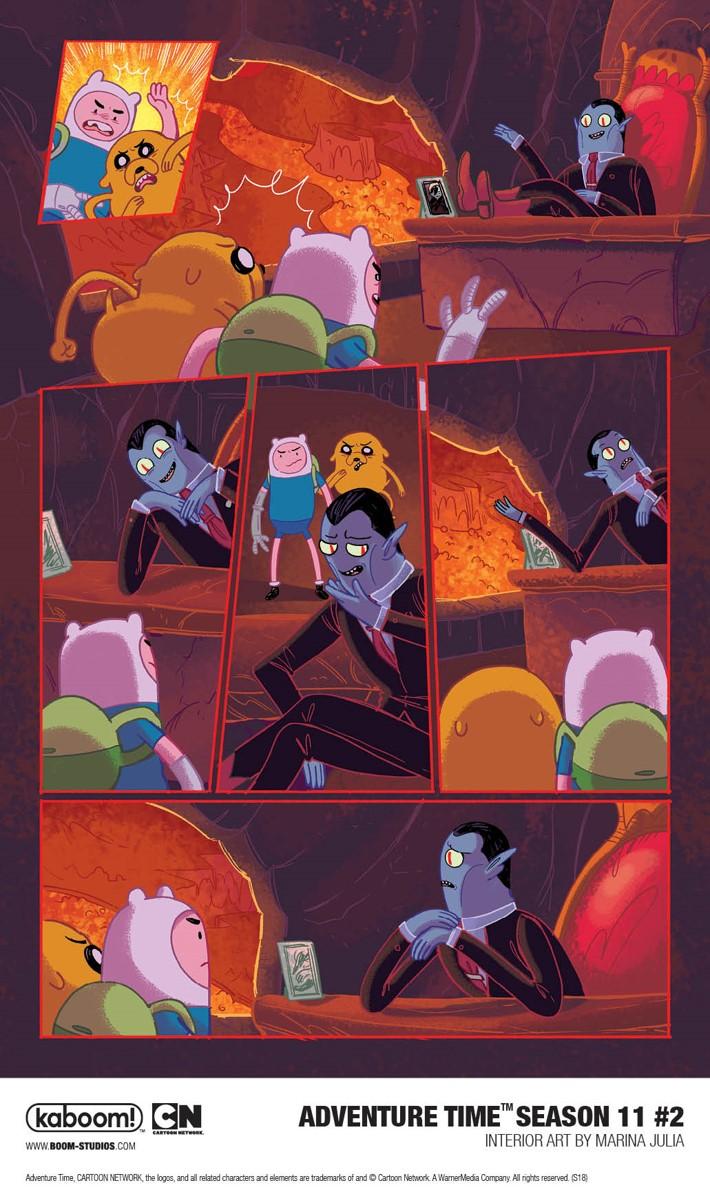 AdventureTime_Season11_002_InteriorArt2_PROMO First Look at BOOM! Studios' ADVENTURE TIME SEASON 11 #2