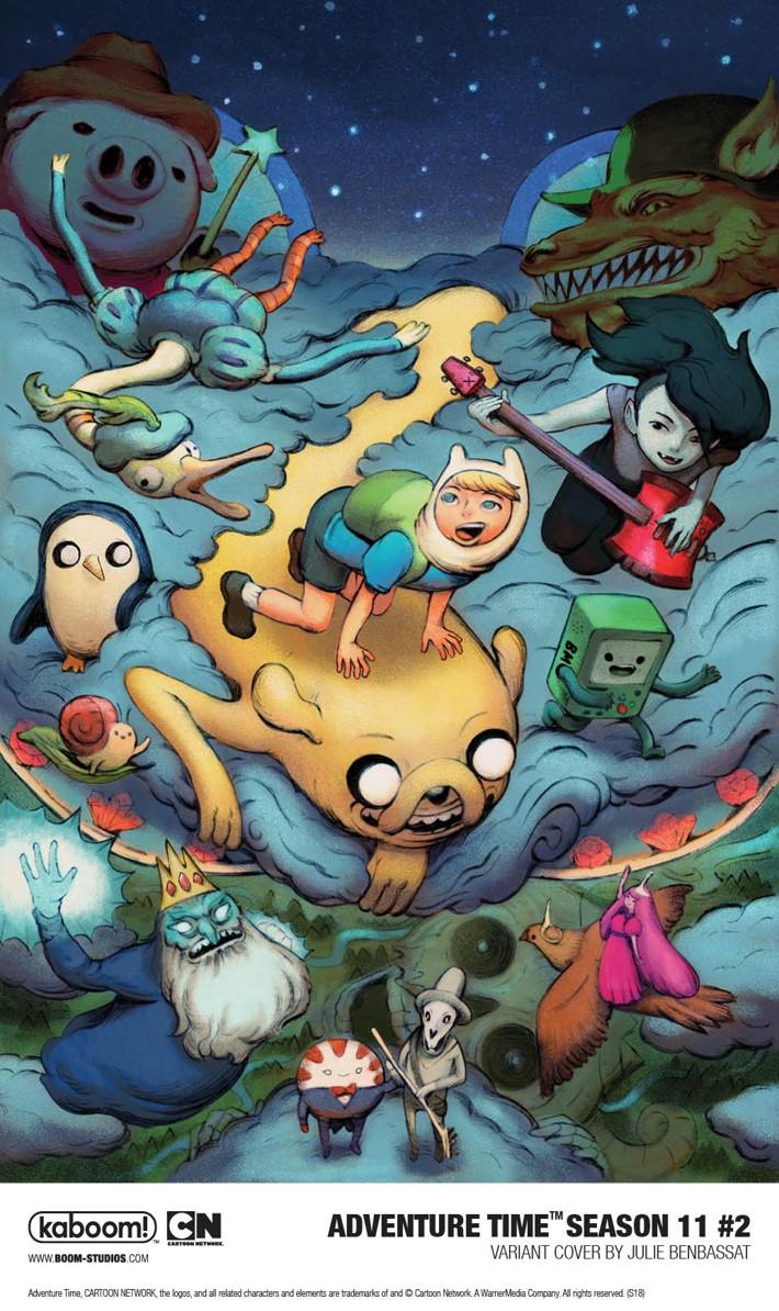AdventureTime_Season11_002_Variant1_PROMO First Look at BOOM! Studios' ADVENTURE TIME SEASON 11 #2