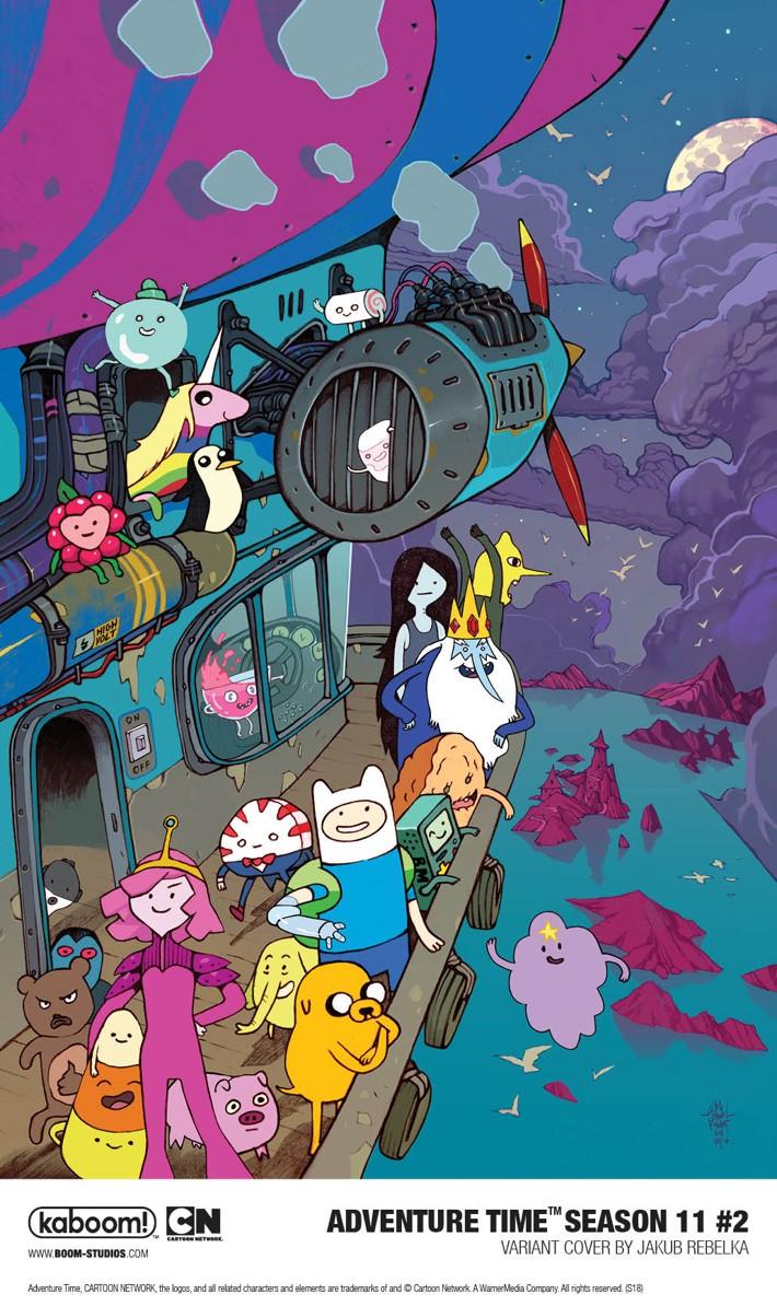 AdventureTime_Season11_002_Variant2_PROMO First Look at BOOM! Studios' ADVENTURE TIME SEASON 11 #2