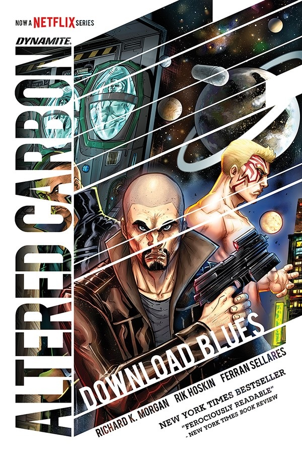 AlteredCarbonOGN-Cov- Richard K. Morgan to write new ALTERED CARBON graphic novel