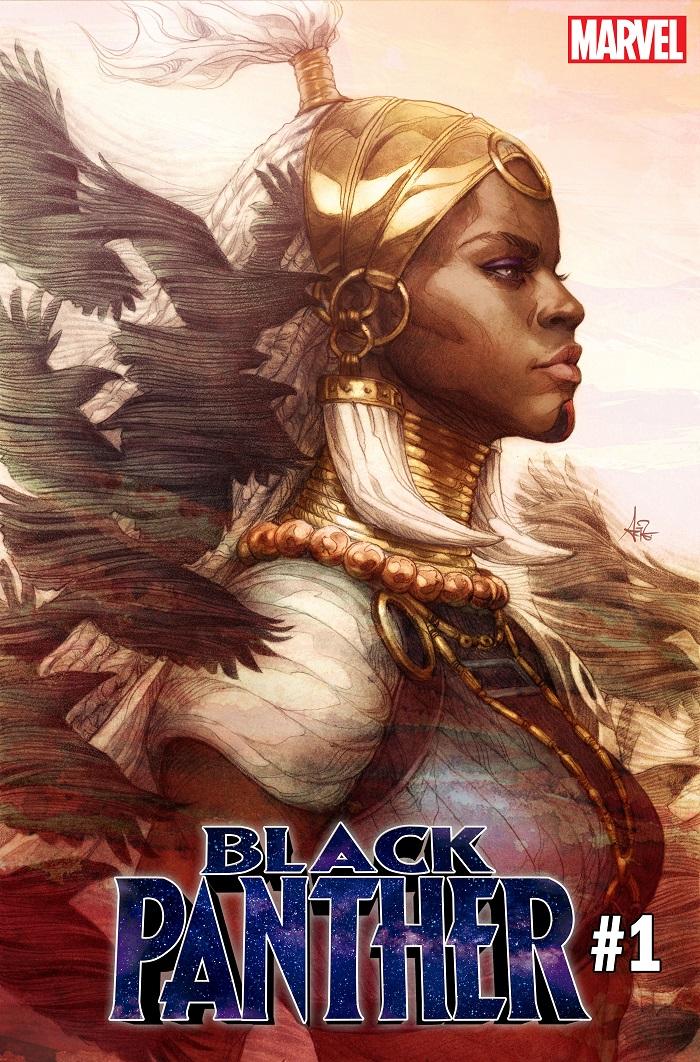 BLAP001_Artgerm_Var_Cvr Marvel announces BLACK PANTHER #1 Stanley Artgerm Lau variant