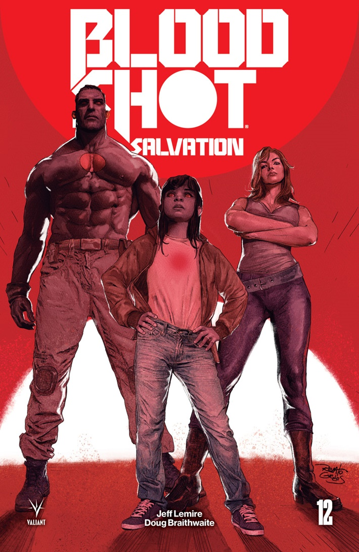 BSS_012_COVER-B_GUEDES First Look at Valiant Entertainment's BLOODSHOT SALVATION #12