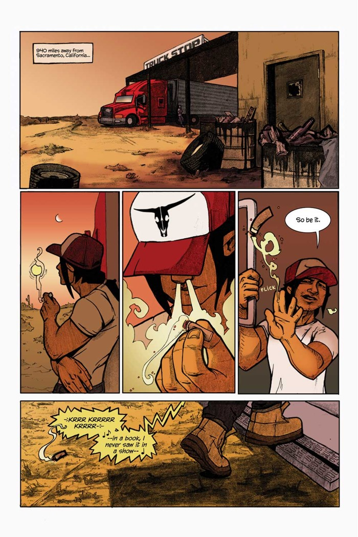 Brother-Nash-Interior-Art-1 Titan Comics to publish Bridgit Connell's creator-owned BROTHER NASH