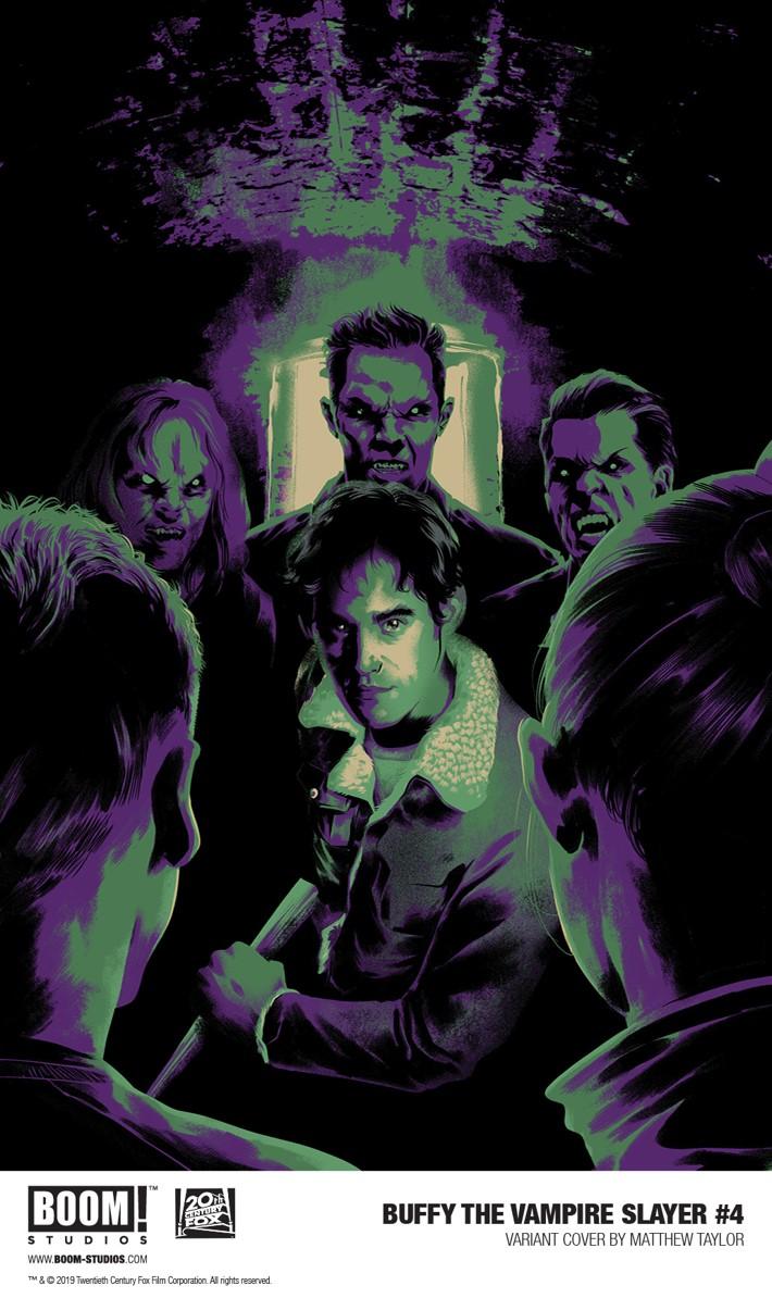Buffy_004_Variant_Taylor_PROMO First Look at BOOM! Studios' BUFFY THE VAMPIRE SLAYER #4