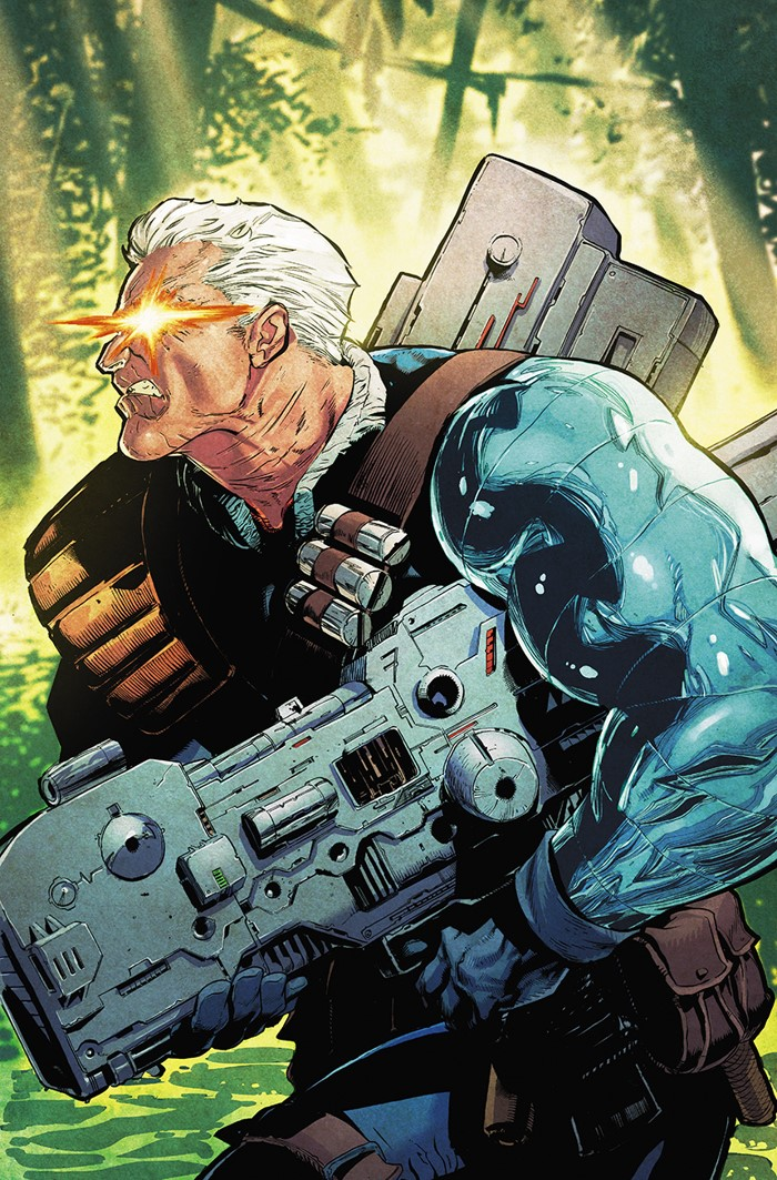 CABLE2017155_Stegman CABLE GREATEST HITS VARIANTS showcase Cable through the years