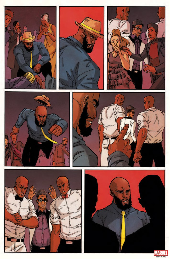 CAGEMDODC2018Page_1 LUKE CAGE #1 coalesces with the Marvel Digital Originals line