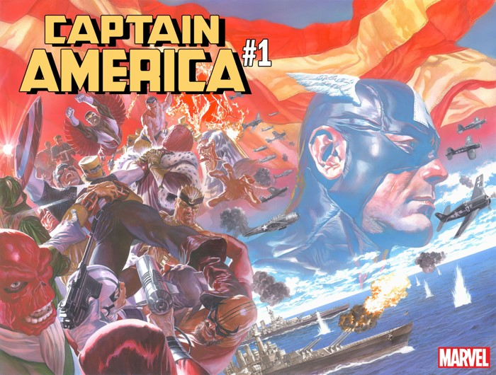 CAPTAIN_AMERICA_001_CVR_ROSS CAPTAIN AMERICA #1 to feature an all-new creative team and all-new direction