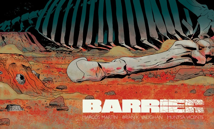 Cover02_col Five-issue miniseries BARRIER will be available in print this May