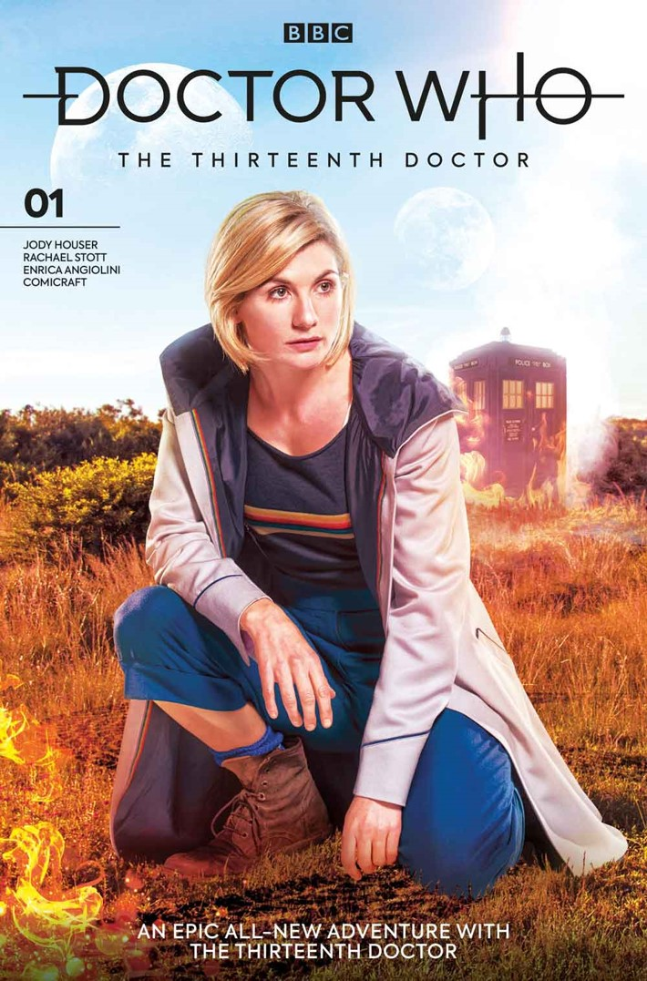 DW13D_1_Cover_B_PHOTO Titan reveals DOCTOR WHO THE THIRTEENTH DOCTOR variant covers