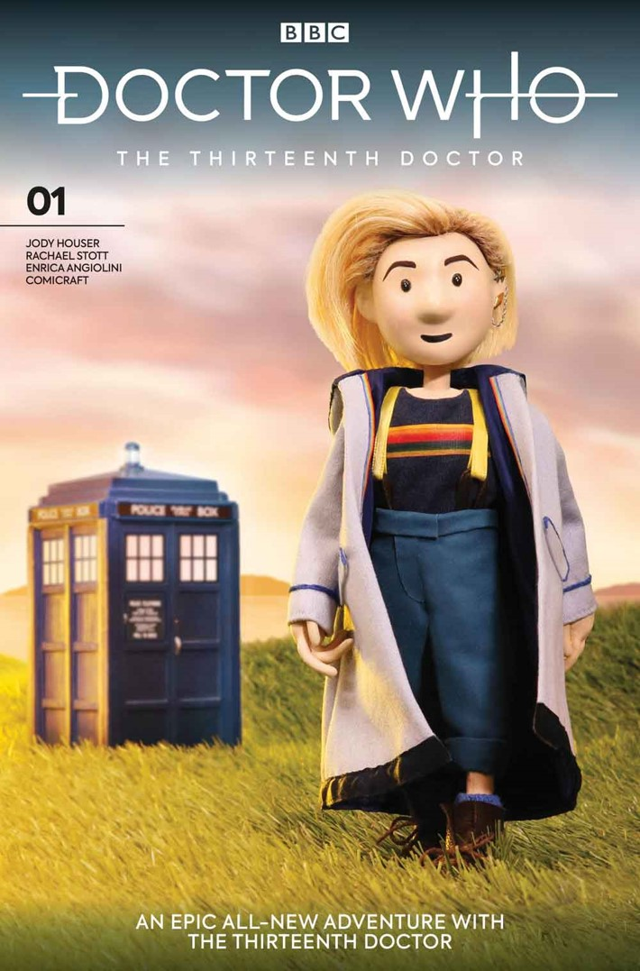 DW13D_1_Cover_J_DOCTOR_PUPPET Titan reveals DOCTOR WHO THE THIRTEENTH DOCTOR variant covers