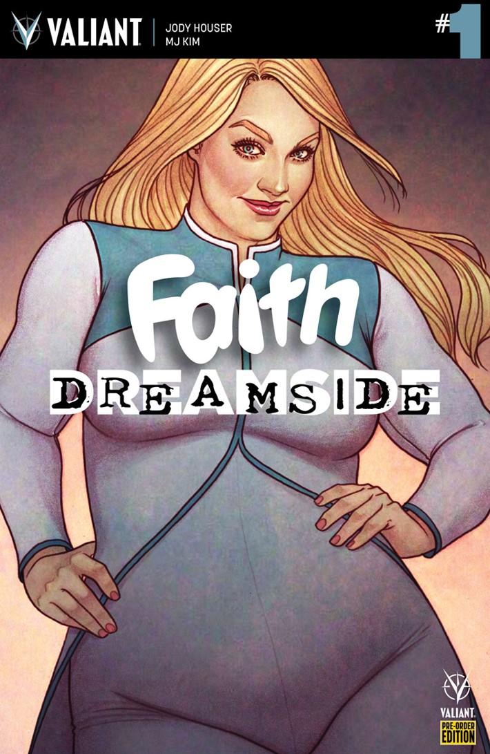FAITH_DS_001_PRE-ORDER_FRISON First Look at Valiant Entertainment's FAITH DREAMSIDE #1