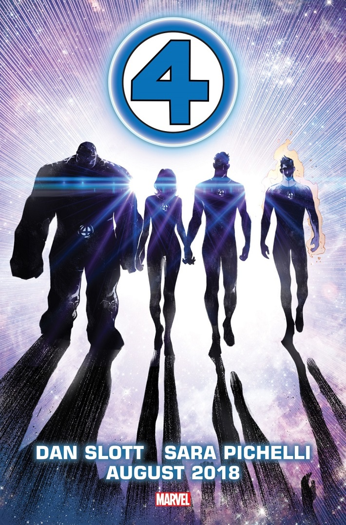 FANTASTIC_FOUR New FANTASTIC FOUR monthly series will begin this August