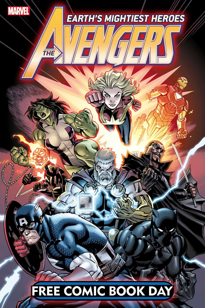 FCBD_AVENGERS_2019_CVR Marvel unveils a dynamic and deadly AVENGERS for FCBD 2019
